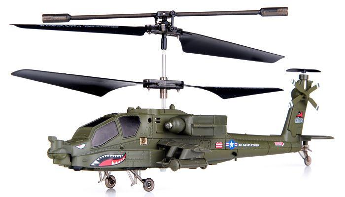 12900 syma sima model s109g apache combat simulation model of helicopter uav remote control aircraft
