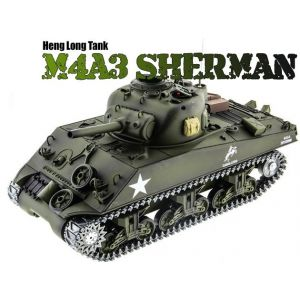 Р/У танк Heng Long 1/16 M4A3 Sherman  RTR