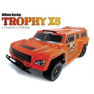 Р/У Хаммер Himoto Trophy X5 Brushless 4WD 2.4GHz 1/5 RTR + Li-Po и З/У