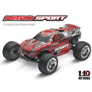 TRAXXAS    Nitro Sport 2WD 1/10 RTR + NEW Fast Charger