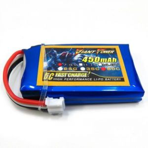 Аккумулятор Giant Power Li-Po 3.7V, 150mAh, 15C