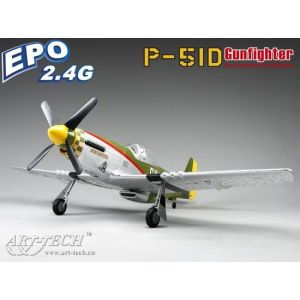 Самолет P-51D Gunfighter Commemorative Edition EPO на р/у Art-Tech 21088